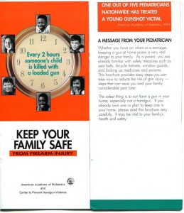 See the figure of a 1996 pamphlet jointly published by the American Academy of Pediatrics and the Center to Prevent Handgun Violence