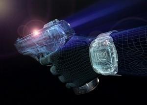 Armatix SmartSystem: iP1 .22 cal pistol & RFID watch.