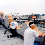 L.A. storeowners during 1992 riots (from: humanevents.com)