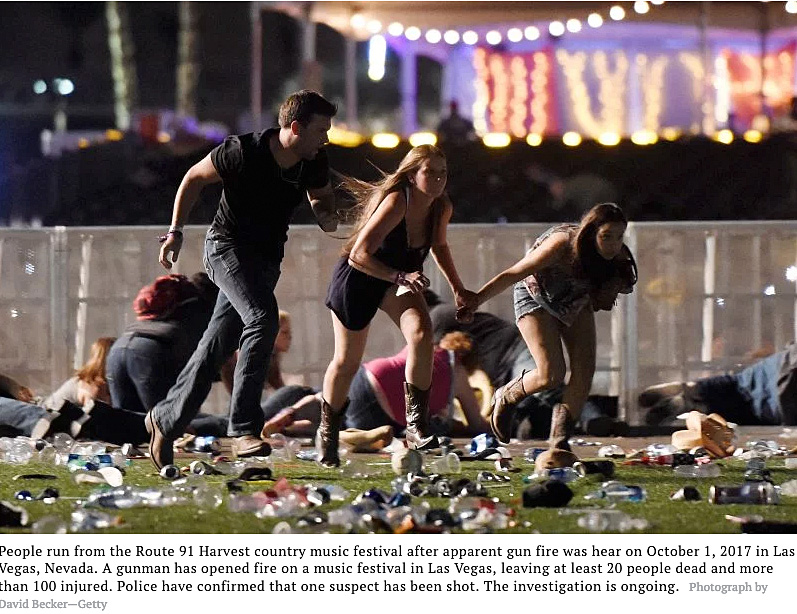imagery from las vegas mass shooting
